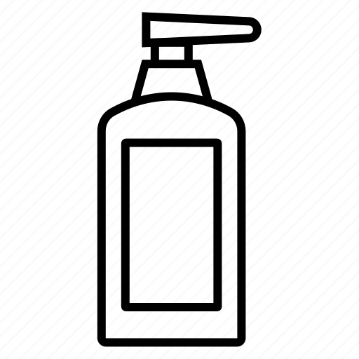 antiseptic, cleaning agent, housekeeping, liquid soap, soap dispenser icon