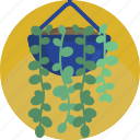 fern, vase, decoration, house, modern, plants, indoor icon