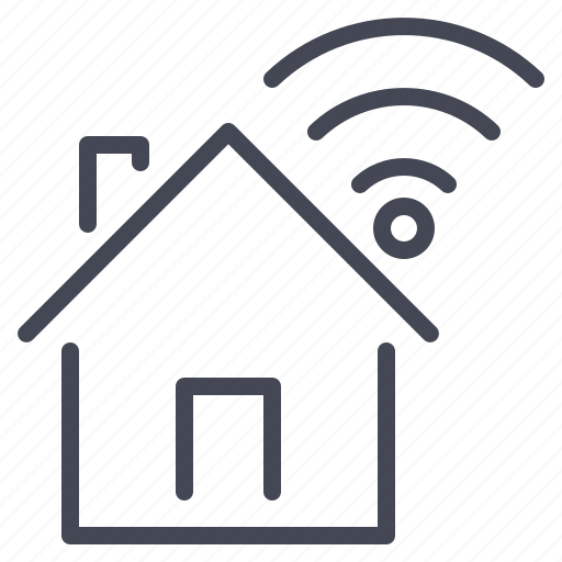 connection, home, internet, network icon