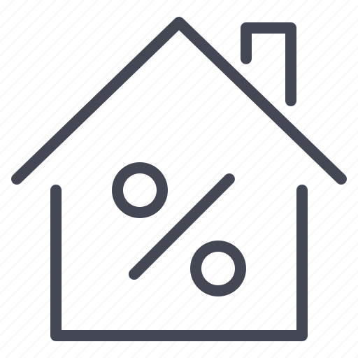 house, loan, mortgage, property icon