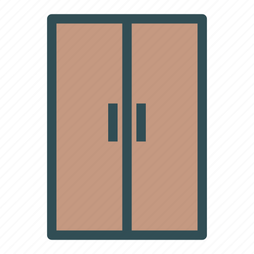 door, doubledoor, entrance, exit icon