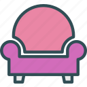 arm, chair, seat icon