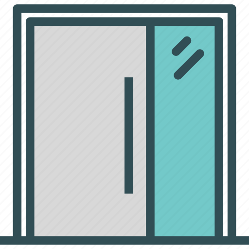 door, entrance, exit icon