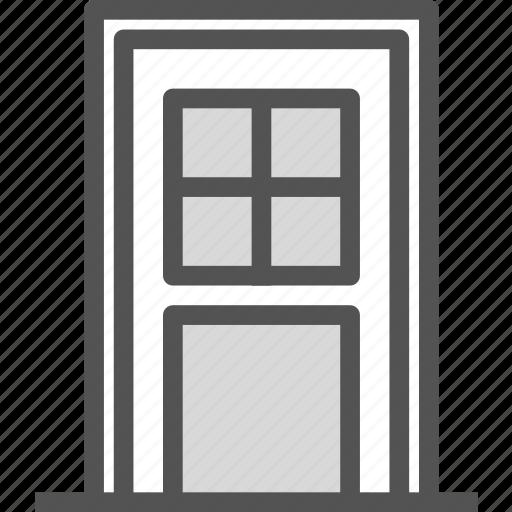 backdoor, exit icon