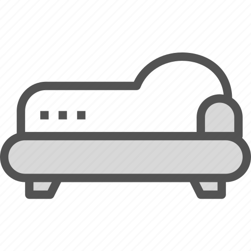 gothic, rest, retro, sleep, sofa, vintage icon