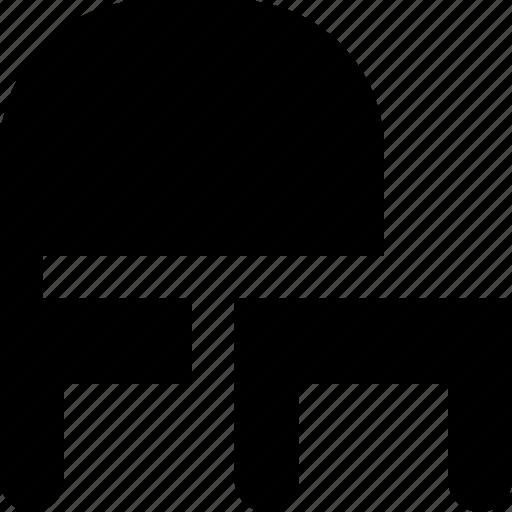 angle, chair icon