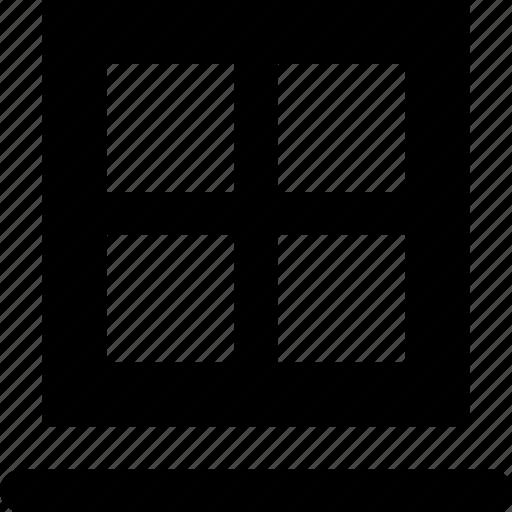 sill, window icon