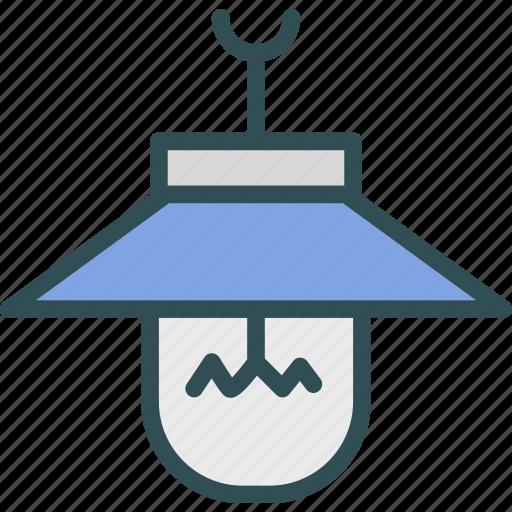 bulb, house2, interior, light icon