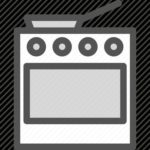 food, kitchen, oven, prepare3 icon