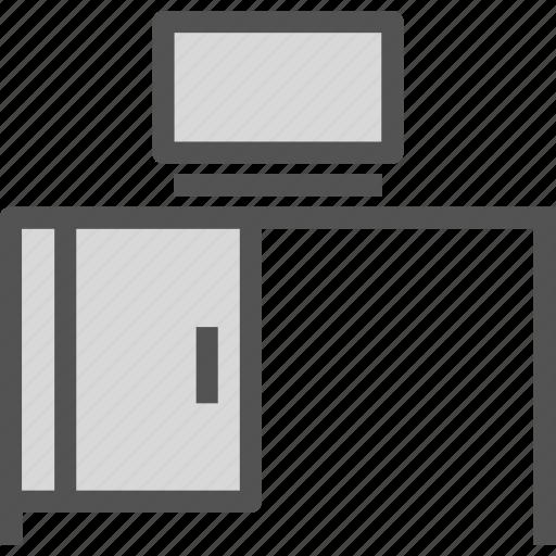 calculator, computer, desk, office, pc icon