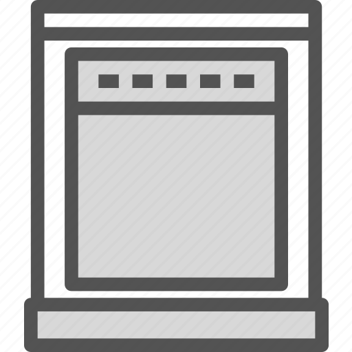 food, kitchen, oven, prepare icon