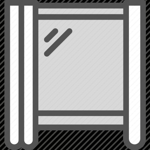 outdoor, pvc, window icon