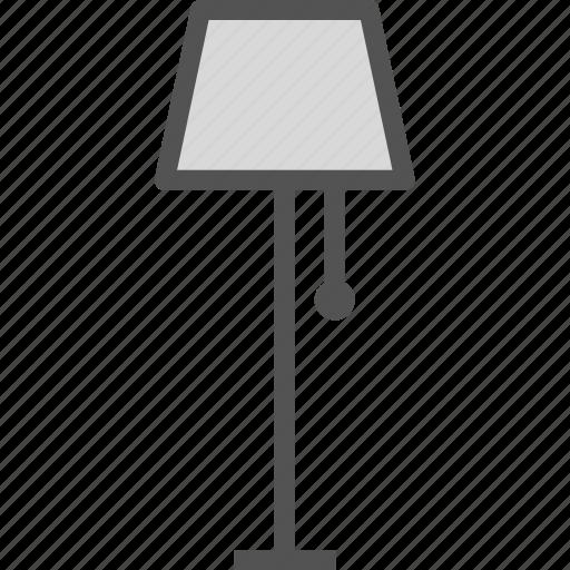 decor, ing, interior, light icon