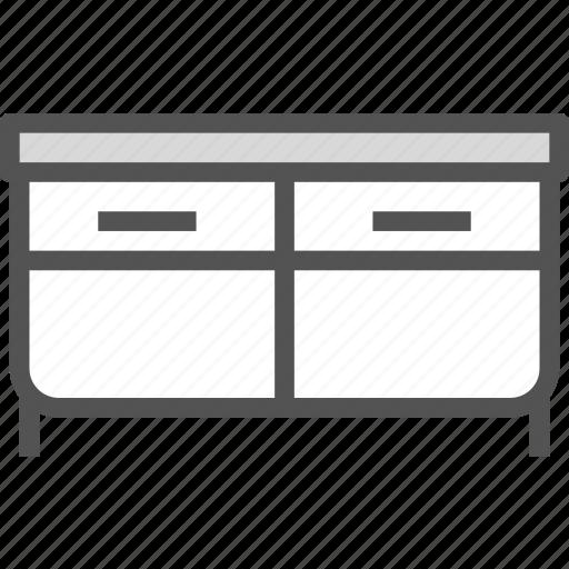 closet, furniture, stand icon