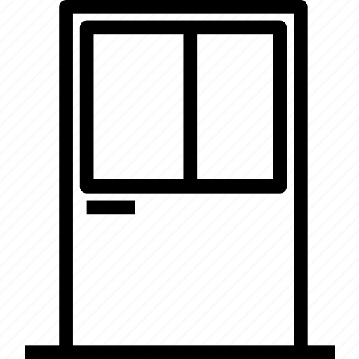 door, entrance, exit, interiordoor, outdoor, window icon