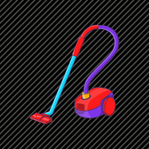 appliance, cartoon, cleaner, domestic, equipment, sign, vacuum icon