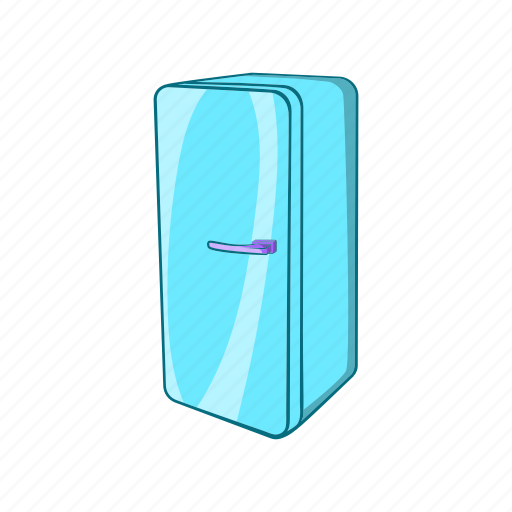 cartoon, classic, fridge, furniture, icebox, refrigerator, sign icon