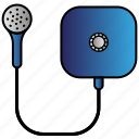 appliance, home, house, household, power, shower icon