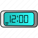 appliance, clock, digital, home, house, household icon
