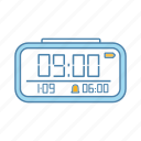 alarm, clock, digital, electronic, time, timer, watch
