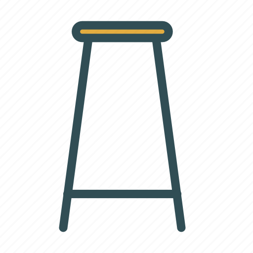bar, chair, furniture, stool icon