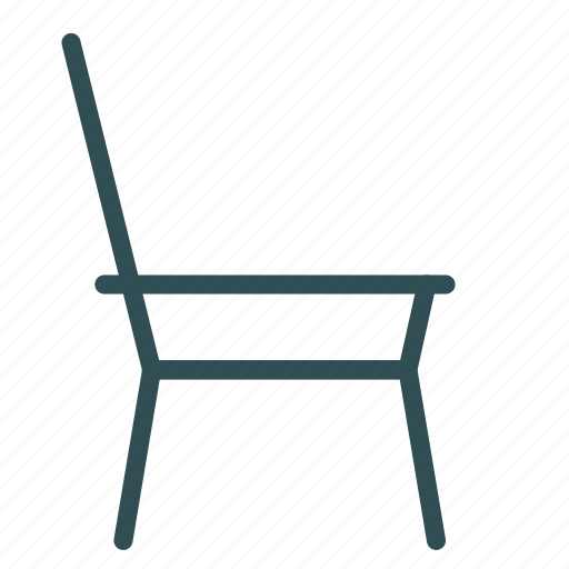 chair, furniture, home, house, sketch icon
