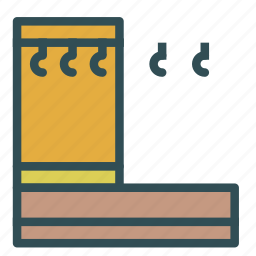 clothes, furniture, hanger, home, house icon
