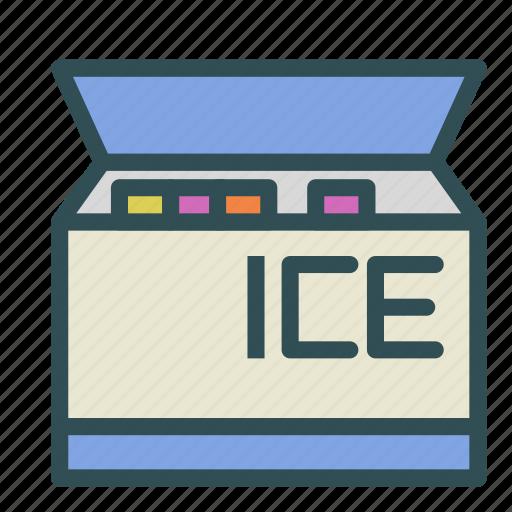 equipment, freezer, ice, kitchen, refrigerator icon