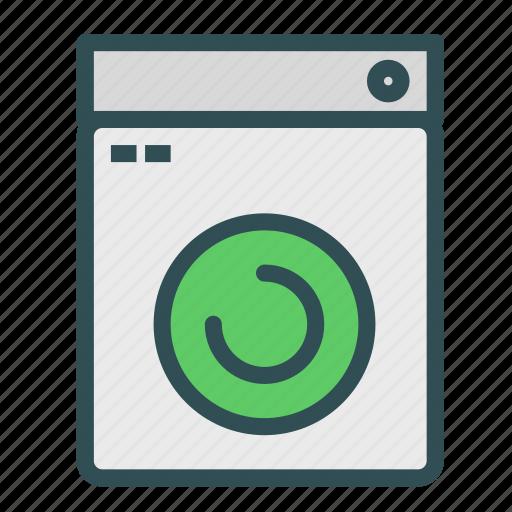appliance, equipment, house, machine, washer, washing icon