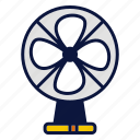 appliance, electric, fan, household devices, tool icon