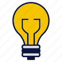 appliance, bulb, business, household devices, idea, lamp, light icon
