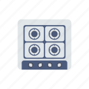 burner, cook, kitchenware, stove icon