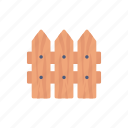 barrier, boundary, fence, safety icon