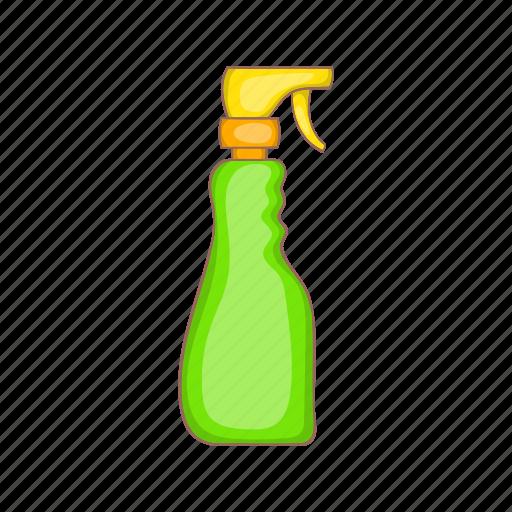 aerosol, bottle, cartoon, cleaner, plastic, spray, sprayer icon