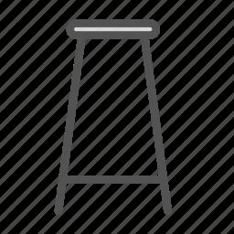 bar, chair, furniture, stool icon