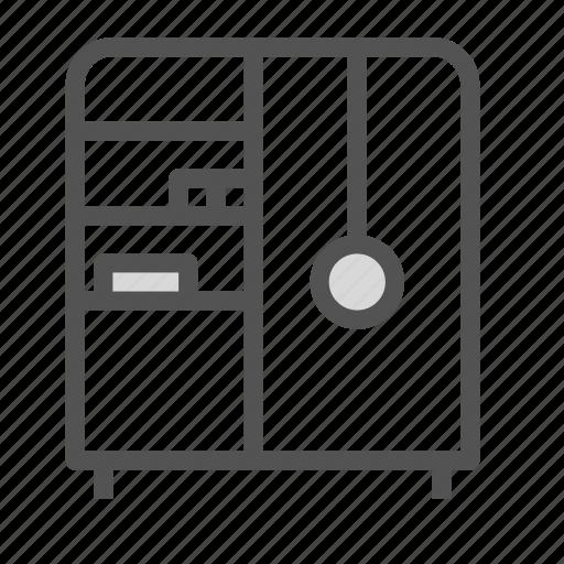 cabinet, closet, furniture, house, shelf icon