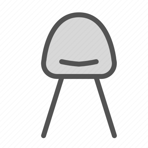 chair, furniture, home, house, modern icon