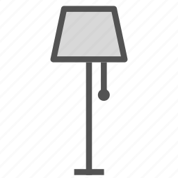 decoration, home, house, lamp, light icon