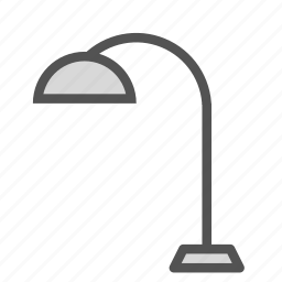 desk, home, house, lamp, office icon