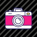 camera, digital, photo, photo camera, photocamera, take picture icon