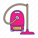 appliance, clean, cleaner, cleaning, home, vacuum, vacuum cleaner icon