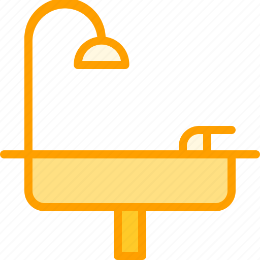 furniture, home, house, household, sink icon