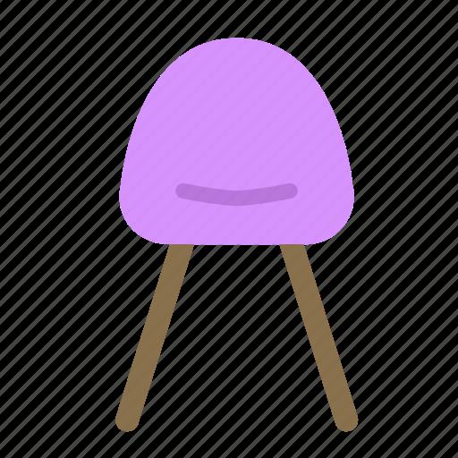 chair, furniture, home, house, modern icon
