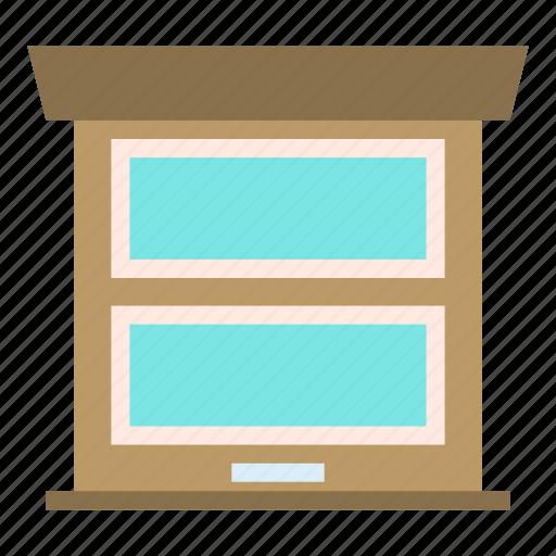 door, entrance, garaje, glass, modern icon
