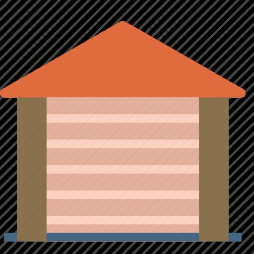 car, garaje, home, house, storage, tools icon