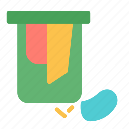 basket, bathroom, hamper, laundry, washing icon