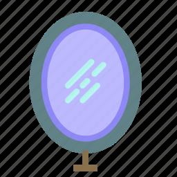 decoration, home, house, mirror icon