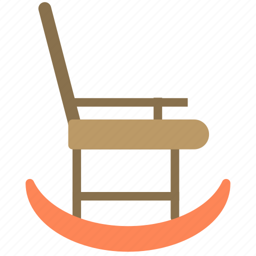 chair, furniture, home, house, porch, rocking icon