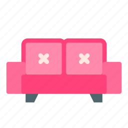 couch, furniture, home, house, sofa icon