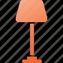 furniture, lamp, interior, light, bulb, electric icon